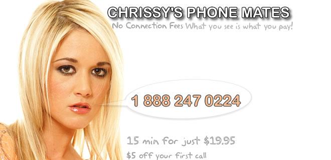Chrissys phone sex